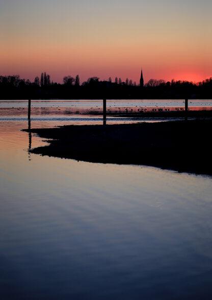 Sonnenuntergang Kunstdruck
