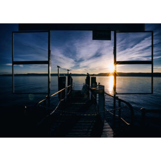 Überlinger Hafen Kunstdruck