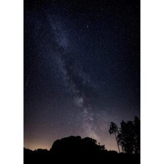 Milchstraße Postkarte